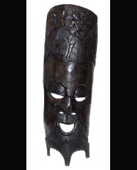Mahogany Ancestor Figure